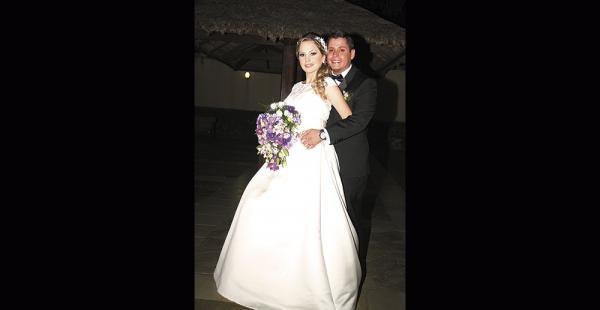 Karenina Gutiérrez y José Daniel Estenssoro. El próximo mes se van  de luna de miel a Brasil