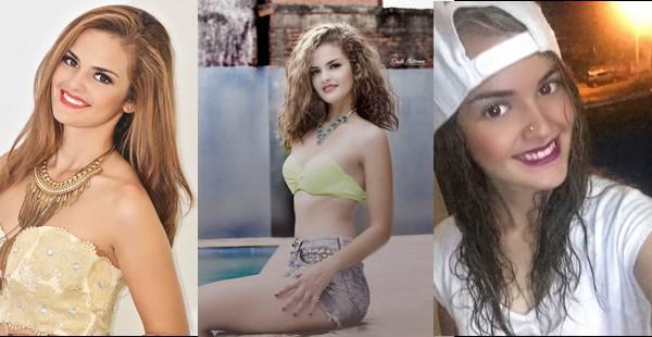 A Fabiana le gustan los cambios de look, actualmente lleva el cabello color castaño
