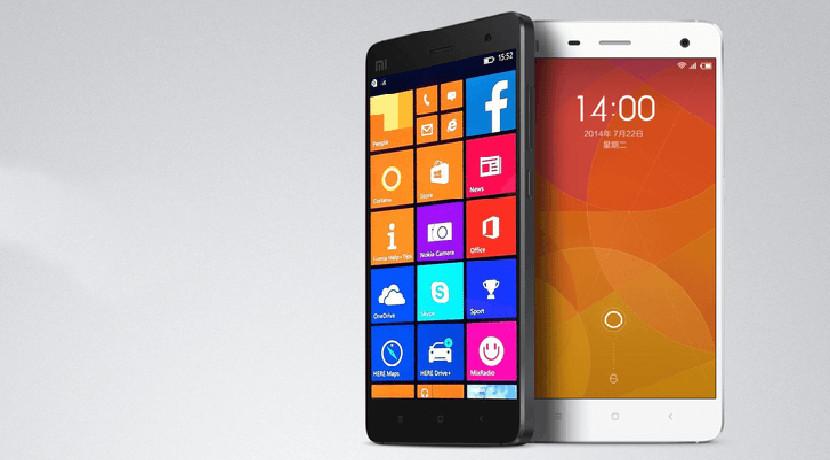 Xiaomi con Windows 10