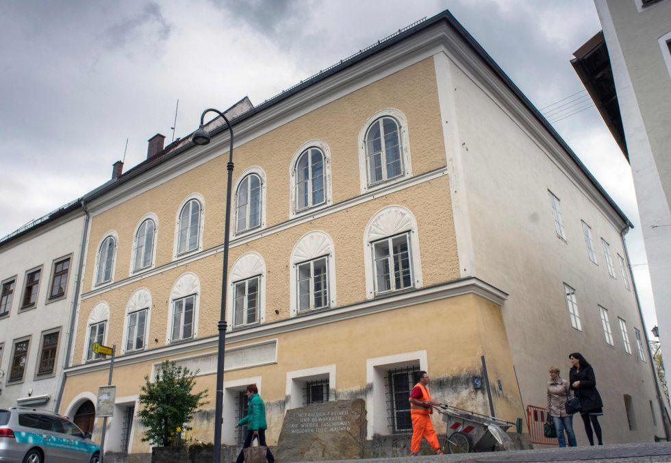 La casa natal de Hitler, en Braunau Am Inn (Austria), en una imagen de 2015.