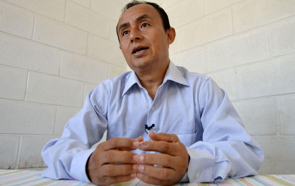 El candidato por Democracia Directa, Gregorio Santos.