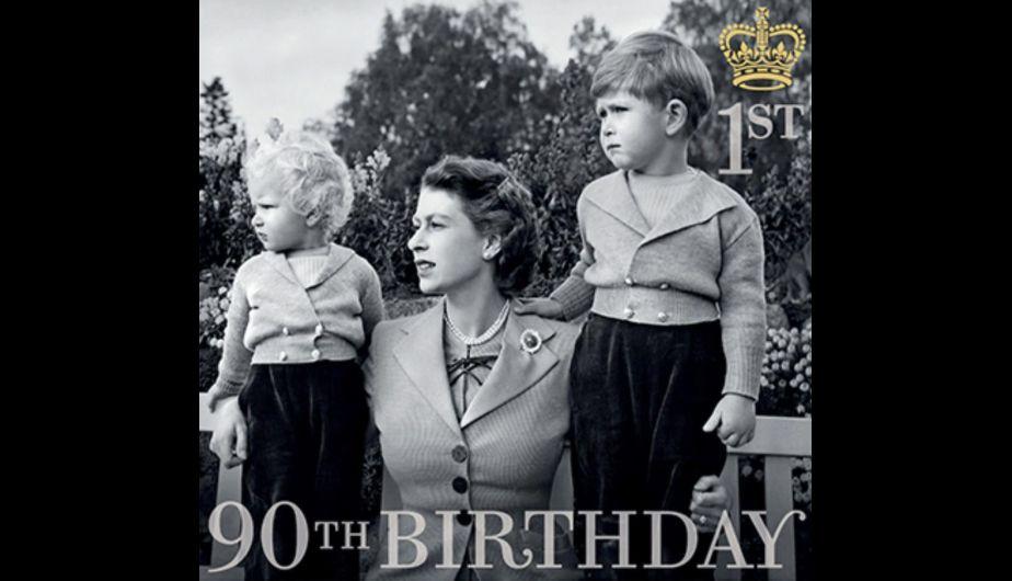 Reina Isabel II: 6 sellos históricos para celebrar sus 90 años