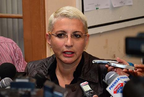 Susana Rivero, presidenta de la comisión investigadora del caso CAMC