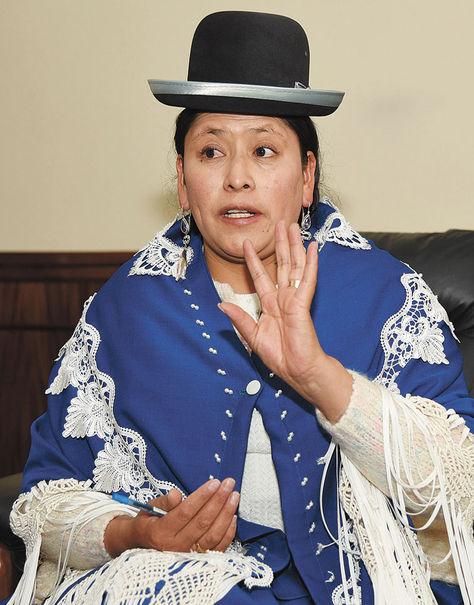 Virginia Velasco. Foto: Luis Salazar