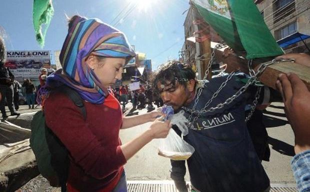 La marcha cosecha solidaridad