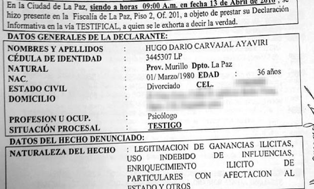 Según el exesposo de Zapata, ella trabajó en ABC dos años