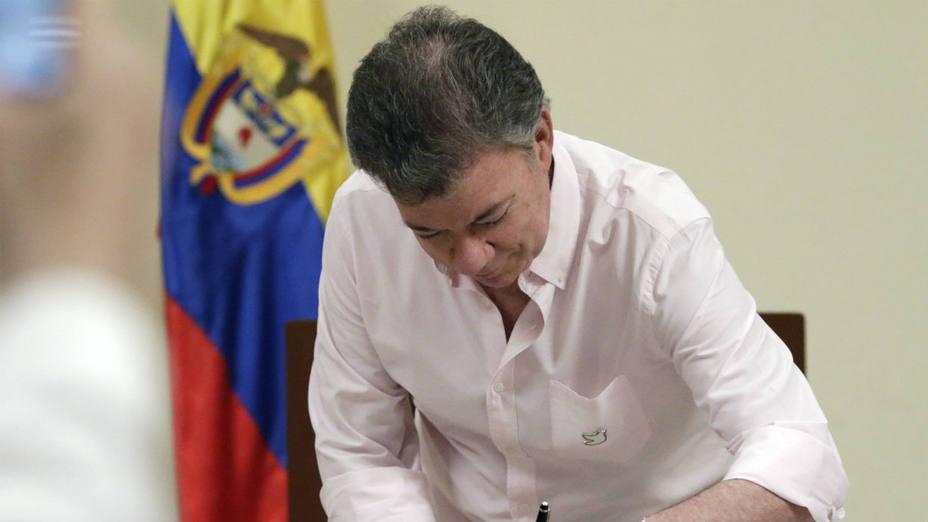 El presidente de Colombia, Juan Manuel Santos (Efe)
