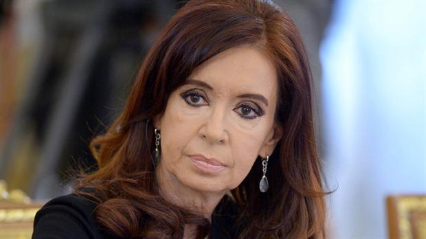 La ex presidente, Cristina Kirchner