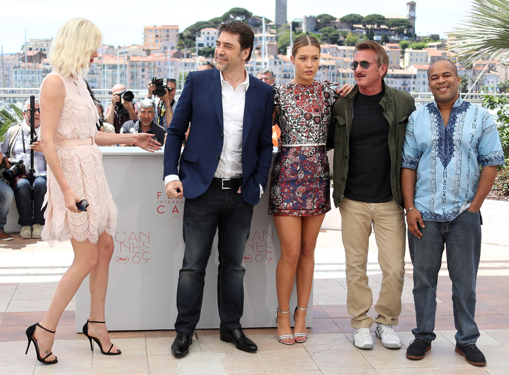 Charlize Theron, Javier Bardem, Adele Exarchopoulos, Sean Penn
