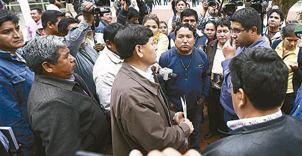 Rodolfo y otros alcaldes increparon al secretario de Gobierno días atrás