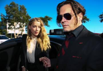 Johnny Depp en abril de 2016.