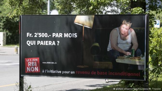 suiza cobrar sin trabajar