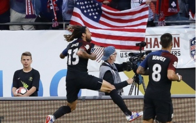 Copa América Centenario: EEUU golea por 4-0 a Costa Rica