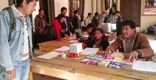 Los participantes para la Cumbre de Justicia ya empezaron a llegar a Sucre.