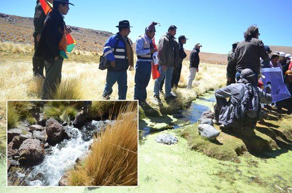 LOS BOFEDALES DEL SILALA QUE SE ENCUENTRAN EN TERRITORIO BOLIVIANO Y EL FLUJO ARTIFICIAL QUE CONSTRUYÓ CHILE PARA IMPULSAR EL RECURSO HÍDRICO HACIA SU TERRITORIO.