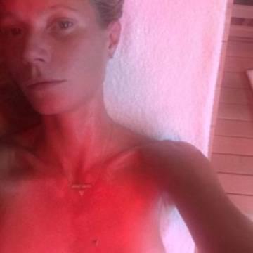 Gwyneth Paltrow y las sesiones de sauna, como remedio contra la gripe.
