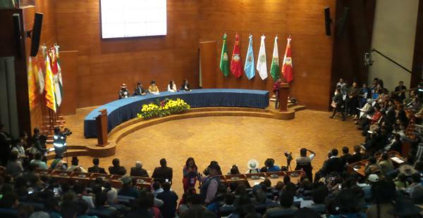 La Cumbre de Justicia terminó en Sucre