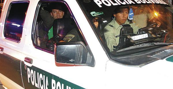 Carlos Alberto Padilla en su última audiencia en el Palacio de Justicia. Vive en el pabellón 2 del PC-4
