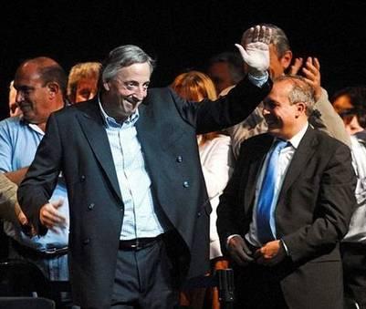 José López, junto al expresidente Néstor Kirchner