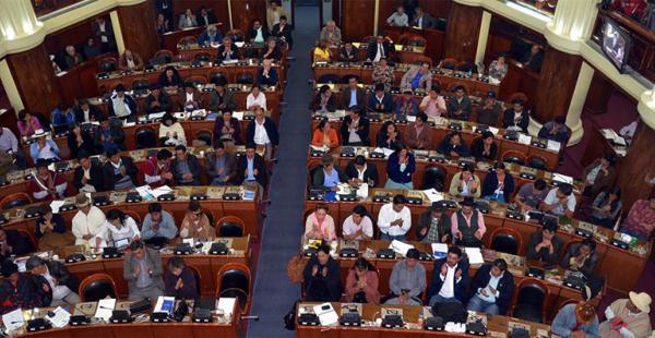 La Asamblea Legislativa Plurinacional deberá elegir al reemplazo de Gabriel Herbas el jueves