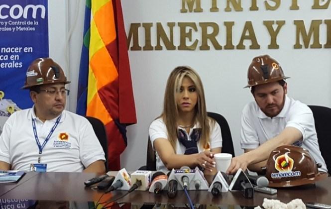 Directora del Senarecom dice que no hay denuncia oficial sobre contrabando del oro