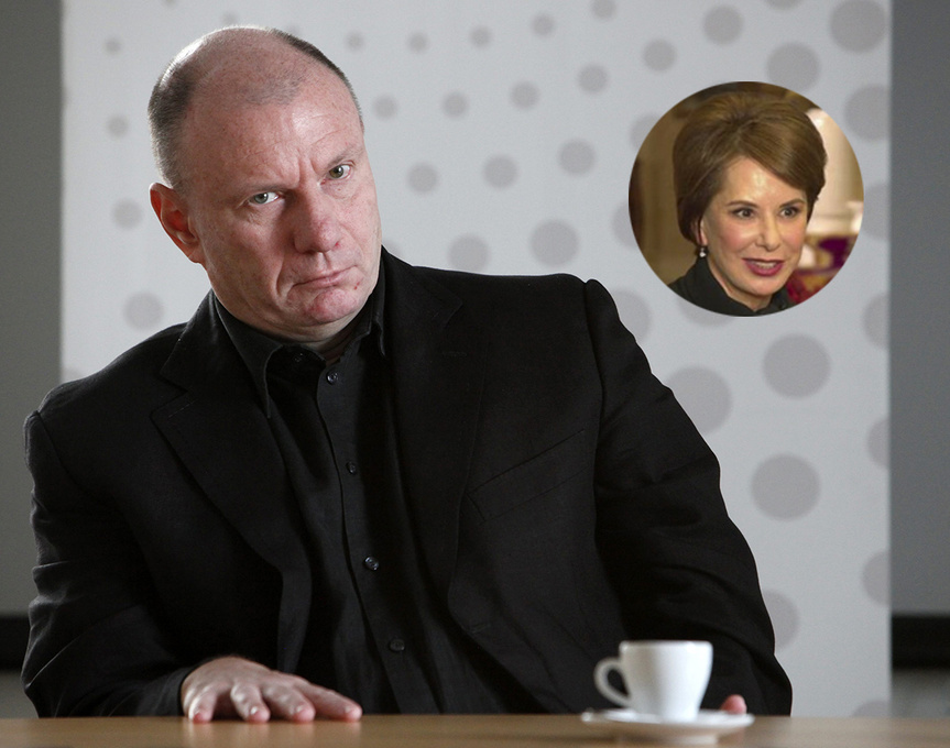 Vladimir Potanin y Natalia Potanina, los protagonistas de este divorcio multimillonario.