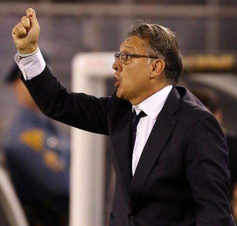 El entrenador de Argentina, Gerardo Martino.