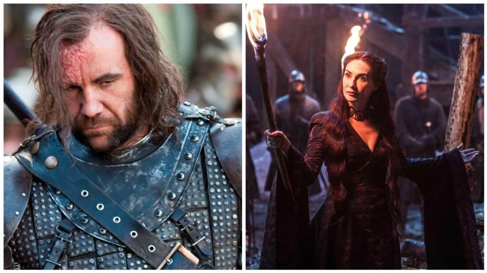 El Perro y Melisandre.