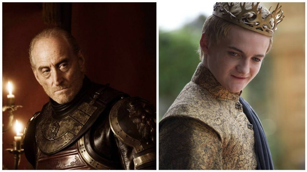 Tywin Lannister y Joffrey Baratheon.