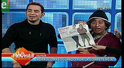 Perruco dice que un tal Oliver Montoya se cuelga de su fama