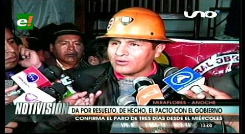 Central Obrera Boliviana da por rota la alianza con el Gobierno
