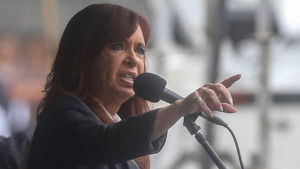 Cristina Kirchner, ex mandataria. - La Razón