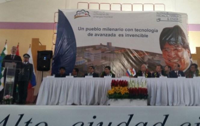 García Linera reconoce el problema de la radioactividad y apuesta a la energía en base al litio