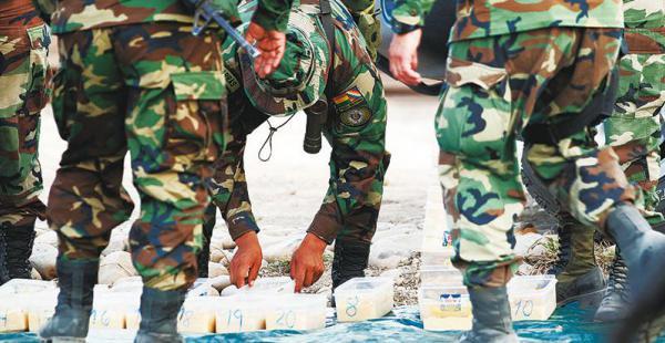 naciones unidas  emitió un informe en 2015 y alertó sobre el desvío de la coca Solo entre enero y marzo de este año la Felcn decomisó unas 70 toneladas de cocaína en Bolivia