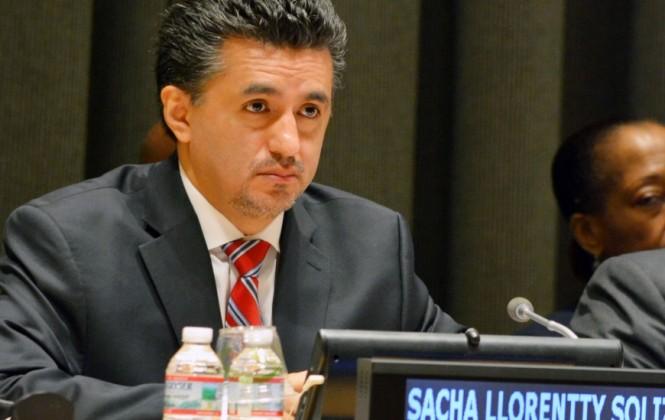 LLorenti dice que resolución sobre el internet fue adoptada por consenso, sin necesidad de votar