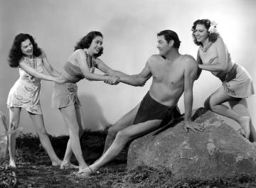 Johnny Weissmuller, el Tarzán más famoso de la historia, acabó retirado en Acapulco (México).
