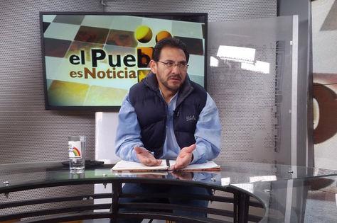 El ministro de Trabajo Gonzalo Trigoso en el programa El pueblo es noticia. Foto: @es_pueblo