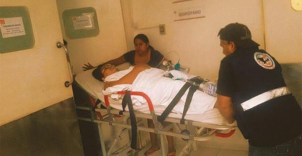 La mujer fue llevada hasta un hospital tras haber sido agredida, pero no resistió