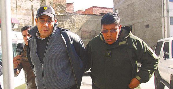 El general Fernando Zeballos fue enviado a la cárcel acusado de incurrir en supuestas irregularidades