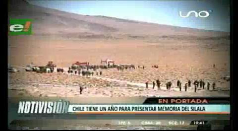 Titulares de TV: Chile tiene un año para presentar memoria del Silala