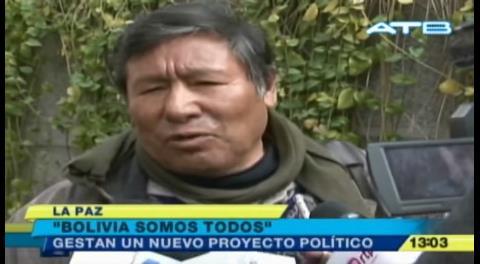 """Román Loayza funda """"Bolivia somos todos"""" rumbo a 2019"""