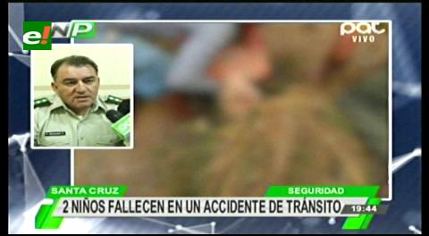 Dos menores pierden la vida en trágico accidente