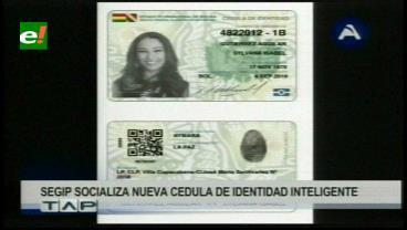 Nueva cédula boliviana incluirá autoidentificación indígena y quitará estado civil y profesión