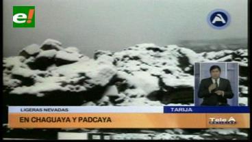 Se registraron las temperaturas más bajas en La Paz, Oruro, Potosí y Tarija