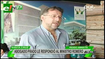 En Santa Cruz, convocan marcha a favor de la 'amnistía' del general Prado