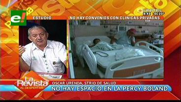 Ministerio de Salud cortó convenios para atención de niños en clínicas según Urenda