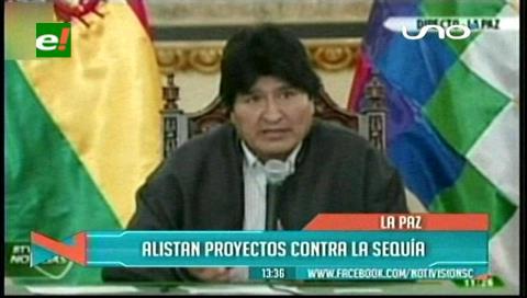 Evo anuncia un paquete de medidas para el agro boliviano