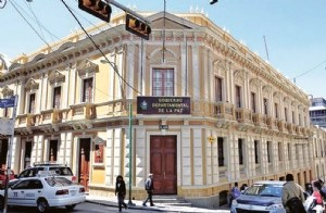 Fiscalía requisa oficinas de la Gobernación de La Paz por uso de un logotipo