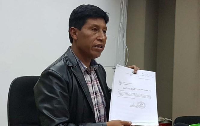 Senador de UD sugiere que Mesa sea convocado para apoyar la defensa del río Lauca