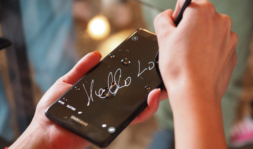 Samsung Galazy Note 7 Agua